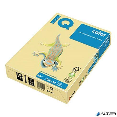 Fénymásolópapír színes IQ Color A/4 160 gr pasztell  krém CR20 250 ív/csomag