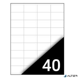 ETIKETT FORTUNA 48,5X25,4 UNIVERZÁLIS