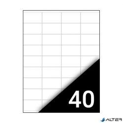 ETIKETT FORTUNA 52,5X29,7 UNIVERZÁLIS