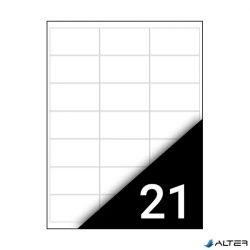 ETIKETT FORTUNA 63,5X38,1 UNIVERZÁLIS