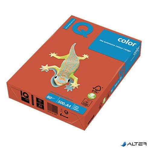 Fénymásolópapír színes IQ Color A/4 80 gr intenzív téglavörös ZR09 500 ív/csomag