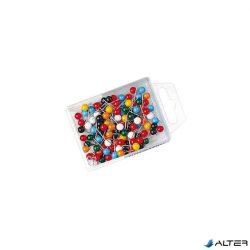 Táblatű Wedo gömbfejű színes 100/dob