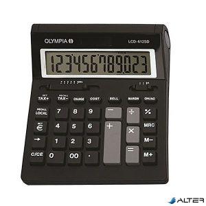 Számológép asztali OLYMPIA LCD-612 SD 12 digit