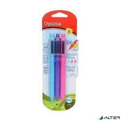 Optima 461 élénk színű zselés toll készlet
