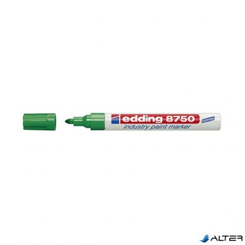 Lakkfilc Edding 8750 zöld
