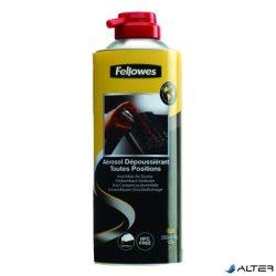 Sűrített levegő Fellowes HFC mentes, gyúlékony, forgatható 200 ml
