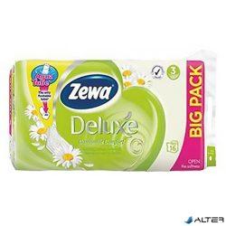 Toalettpapír Zewa Deluxe 3 rétegű 16 tekercses Camomila
