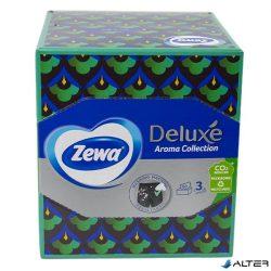 Papírzsebkendő Zewa Deluxe Camomila 3 rétegű 60db-os dobozos