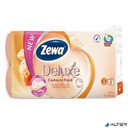 Toalettpapír Zewa Delux 3 rétegű 8 tekercses Peach