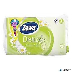 Toalettpapír Zewa Delux 3 rétegű 8 tekercses Camomila
