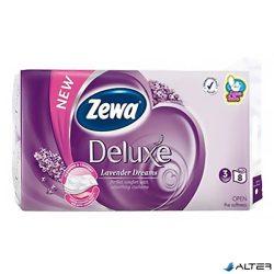 Toalettpapír Zewa Delux 3 rétegű 8 tekercses Levendula