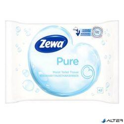 Nedves toalettpapír Zewa Pure 42db-os