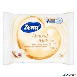 Nedves toalettpapír Zewa Almond Milk 42db-os