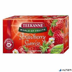 TEA TEEKANNE STRAWBERRY SUNRISE