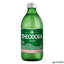 Ásványvíz Theodora Kereki 0,33l eldobható üveges szénsavas