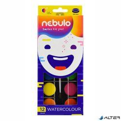 Vízfesték Nebuló 28 mm 12-es készlet + ecset