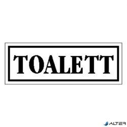 """MATRICA TOALETT FEHÉR """"A"""""""