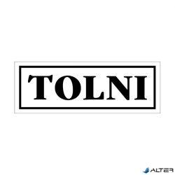 "MATRICA TOLNI FEHÉR ""A"""