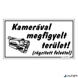 PIKTOGRAM KAMERÁVAL MEGFIGYELT TERÜLET FEHÉR