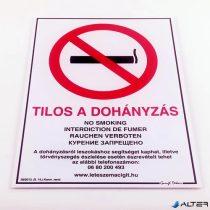 PIKTOGRAM TILOS A DOHÁNYZÁS 25X35 CM