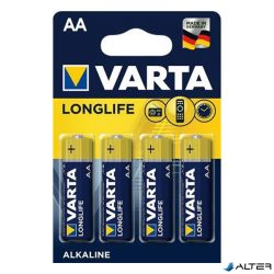 Elem ceruza Varta 'Longlife' AA 4-es