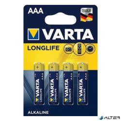 Elem mikro Varta 'Longlife' AAA 4-es