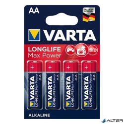 Elem ceruza Varta 'Longlife Max Power' AA 4-es