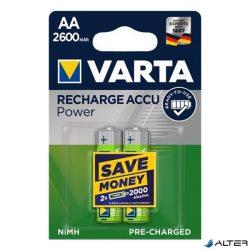 Elem ceruza tölthető Varta 'Power' AA előtöltött 2x2600mAh