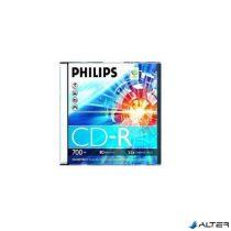 ÍRHATÓ CD PHILIPS 700MB 52X SLIM TOK