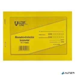 ANYAG KIVÉT VECTRA-LINE 25x4 8 TÉTELES