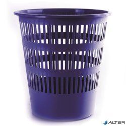 Papírkosár, 16 liter, DONAU, kék