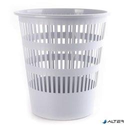 Papírkosár, 16 liter, DONAU, szürke