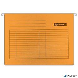 Függőmappa, karton, A4, DONAU, narancs