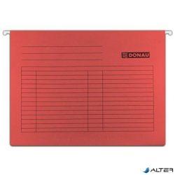 Függőmappa, karton, A4, DONAU, piros