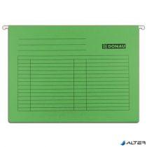 Függőmappa, karton, A4, DONAU, zöld