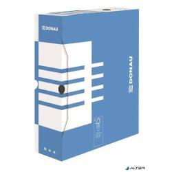 Archiváló doboz, A4, 100 mm, karton, DONAU, kék