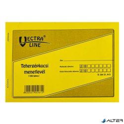 TEHERGÉPJÁRMŰ MENETLEVÉL VECTRA-LINE A/5 100 LAPOS