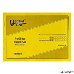 AUTÓBUSZ MENETLEVÉL A/4 50X2