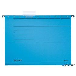 """Függőmappa, karton, A4, LEITZ """"Alpha Standard"""", kék"""