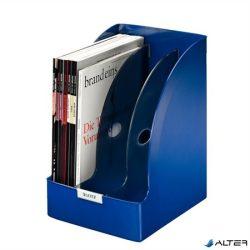 """Iratpapucs, műanyag, 205 mm, elválasztókkal, LEITZ """"Plus Jumbo"""", kék"""