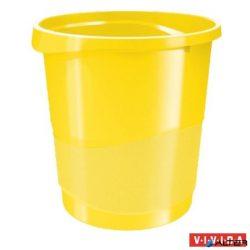 "Papírkosár, 14 liter, ESSELTE ""Europost"", Vivida sárga"
