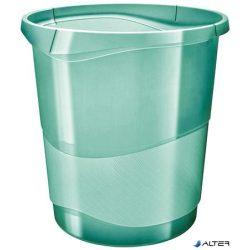 """Papírkosár, 14 liter, ESSELTE """"Colour' Ice"""", áttetsző zöld"""