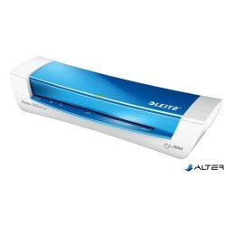 """Laminálógép, A4, 80-125 mikron, LEITZ """"iLam Home Office"""", kék"""