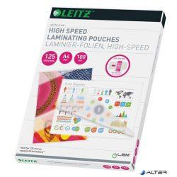 """Meleglamináló fólia, 125 mikron, A4, fényes, LEITZ """"iLam"""""""