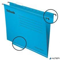 """Függőmappa, újrahasznosított karton, A4, ESSELTE """"Classic"""", kék"""