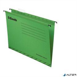 """Függőmappa, újrahasznosított karton, A4, ESSELTE """"Classic"""", zöld"""