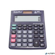 """Számológép, asztali, 12 számjegy, FLEXOFFICE """"FO-CAL05P"""", szürke"""