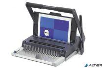 """Spirálozógép, fém és műanyag spirálkötéshez, manuális, 450 lap, GBC """"MultiBind 320"""""""