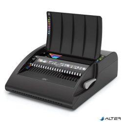 """Spirálozógép, műanyag spirálkötéshez, elektromos, 500 lap, GBC """"CombBind C210E"""""""