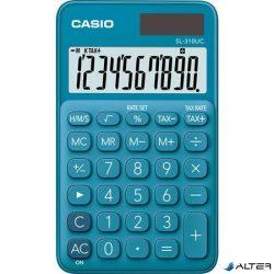 """Zsebszámológép, 10 számjegy, CASIO """"SL 310"""" kék"""